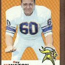 1969 Topps football card #82 Roy Winston EX Minnesota Vikings
