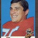 1969 Topps football card #49 (B) Rex Mirich NM Denver broncos