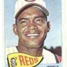 1965 Topps baseball card #554 Chico Ruiz Vg Cincinnati Reds