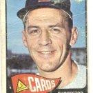 1965 Topps baseball card #275 Dick Groat fair condition St. Louis cardinals