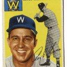 1954 Topps baseball card #245 Roy Sievers VG Washington Senators