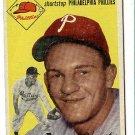 1954 Topps baseball card #78 Ted Kazanski VG Philadelphia Phillies
