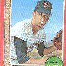 1968 Topps baseball card #573 Joe Coleman Nm (miscut)