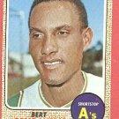 1968 Topps baseball card #109 Bert Campaneris EX/NM