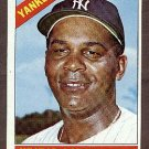 1966 Topps baseball card #177 (B) Hector Lopez NM- New York Yankees