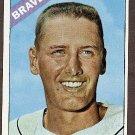 1966 Topps baseball card #49 (C) Woody Woodward NM Atlanta Braves