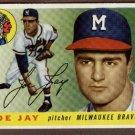 1955 Topps baseball card #134 (C) Joe Jay NM Milwaukee Braves