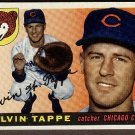 1955 Topps baseball card #129 Elvin Tappe EX Chicago Cubs