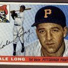 1955 Topps baseball card #127 (D) Dale Long EX Pittsburgh Pirates