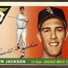 1955 Topps baseball card #66 (B) Ron Jackson VG/EX Chicago White Sox