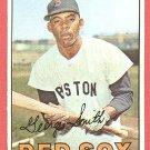 1967 Topps baseball card #444 (B) George Smith EX Boston Red Sox