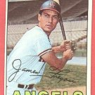1967 Topps baseball card #385 Jim Fregosi VG/EX california Angels