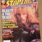 Starlog magazine #128 1988 Beauty & the Beast, Ron Perlman,  Robocop, Walter Koenig, Q