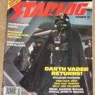 Starlog magazine #35 1980 Empire Strikes back, Darth Vader, Black Hole, Starblazers