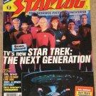 Starlog magazine #124 1987 100 page issue, Vernon Wells, Road warrior, STNG, Burt Ward