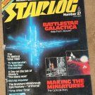 Starlog magazine #27 1979 Alien interviews, Martian Chronicles, Black Hole, Battlestar Galactica