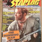Starlog magazine #125 1987 Running Man, Aliens, John Carpenter, STNG, Amazon Women