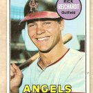 1969 Topps baseball card #205 (B) Rick Reichardt VG-