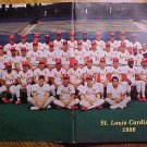 1988 St. Louis Cardinals baseball Yearbook, EX condition, Ozzie Smith