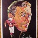 "1970 football Pro-Star Portrait - Larry Wilson St. Louis Cardinals 7.5"" x 10"""