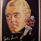 "1970 football Pro-Star Portrait - Jackie Smith St. Louis Cardinals 7.5"" x 10"""