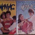 Maniac Magazine issues #'s 2, 3 both VG