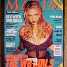 Maxim Magazine June 2000 Sarah Michelle Gellar, Katie Holmes, Alyssa Milano, sex w/ 300 girls, NM
