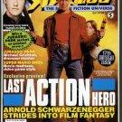 Starlog magazine #192 1993 Last Action Hero, Brent Spiner, Roddenbery, Jurassic Park, NM