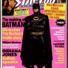 Starlog magazine #145 Star Trek V, Batman, William Shatner, Indiana Jones, NM