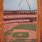 TWO Postcards - Busch Memorial Stadium, St. Louis MO, 1970's, used, both G/VG condition