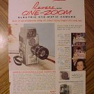 Magazine print ad - 1960's Revere Cini-Zoom 8mm movie camera