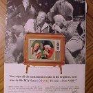 Magazine print ad - 1965 RCA Victor COLOR TV w/ Bonanza cast