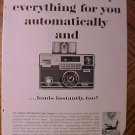 Magazine print ad - Kodak Instamatic 800 camera