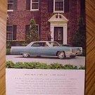 Magazine print ad - 1965 Cadillac - ad version #2