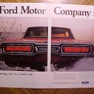Magazine print ad - 1965 Ford Thunderbird (T-Bird)
