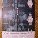 Magazine print ad - Hamilton Thin-O-Matic watch