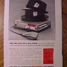 Magazine print ad - 1960's Dictabelt Dictaphone Time-master - ad version #2