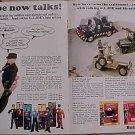 Magazine print ad - 1967 Talking GI (G.I.) Joe action figure - 4 page ad