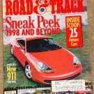 Road & Track magazine May 1997 Porsche 911, BMW M3, 25 future cars