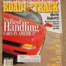 Road & Track magazine June 1999 Mario Andretti rates cars, Acura NSX, Chevy Corvette, Dodge Viper