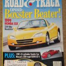 Road & Track magazine January 1998 Honda SSX (S2000) Nissan R390 Gt-1