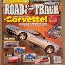 Road & Track magazine September 2004 New Corvette, Bentley Continental GT, Dodge SRT-4