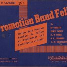 1931 Promotion Band Folio for 3rd B-flat Clarinet, 16 song book