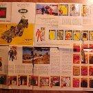 Original 1964(?) GI (G.I.) Joe Official Gear & Equipment catalog, foldout poster sized