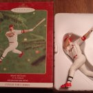 Mark McGwire Christmas Tree Ornament, MIB, Hallmark Keepsake Series 2000