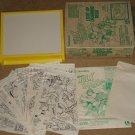 Lakeside Marvel comics Hulk & Spider-Man Light-Up Drawing Desk, 1979 Thor Captain America