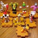 8 assorted Warner Brothers cartoon figures - Bugs Bunny, Marvin Martian, Daffy, Taz, MORE!