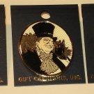 Batman Returns movie: Two Penguin & one Batman cloisonne/enamel tie-tac style pin NM/M