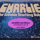 Charlie the Lovable Teaching Robot set of Subtraction cards, 1982, MIB