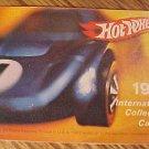 ORIGINAL 1969 Mattel Hot Wheels International Collector's Catalog, VG condition, complete, die cast